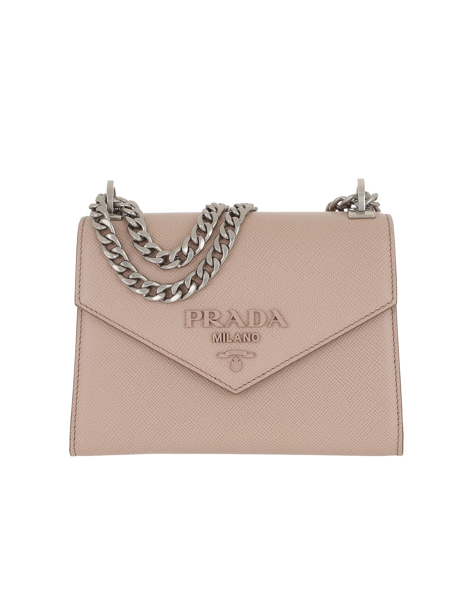 b9342d4eef8bb2 Prada Monochrome Crossbody Bag Medium Cipria In Light Pink | ModeSens