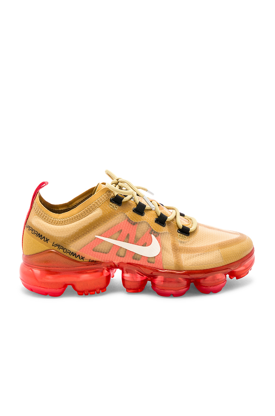 8995897b Nike Air Vapormax 2019 Ripstop And Mesh Sneakers In Gold | ModeSens