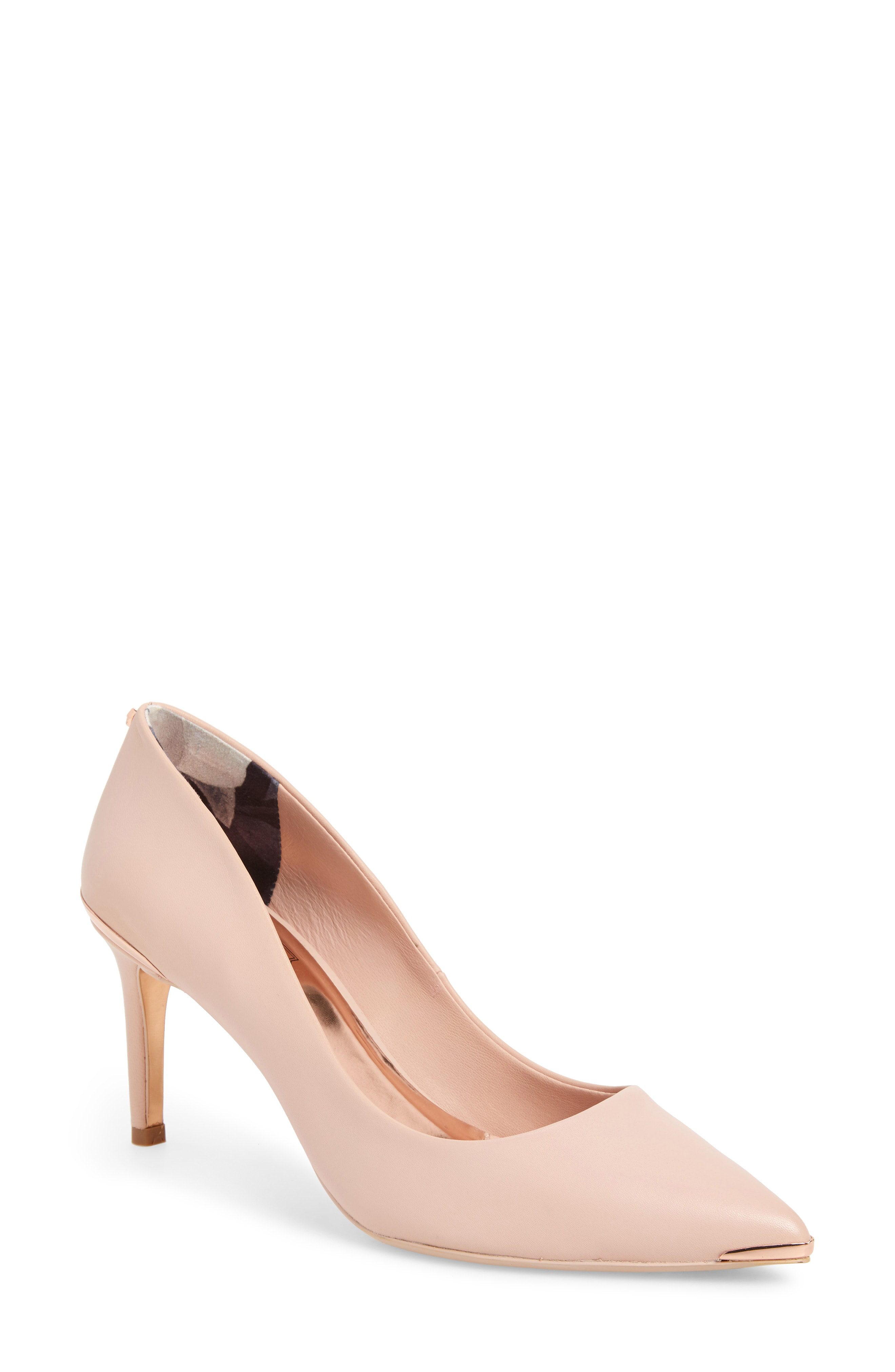 3d5c175839 Ted Baker Women's Wishiri Pointed-Toe Pumps In Nude Leather. Nordstrom