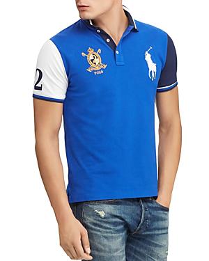 Color Block Polo Mesh Shirt Polo Mesh Shirt Block Color nk8wP0O