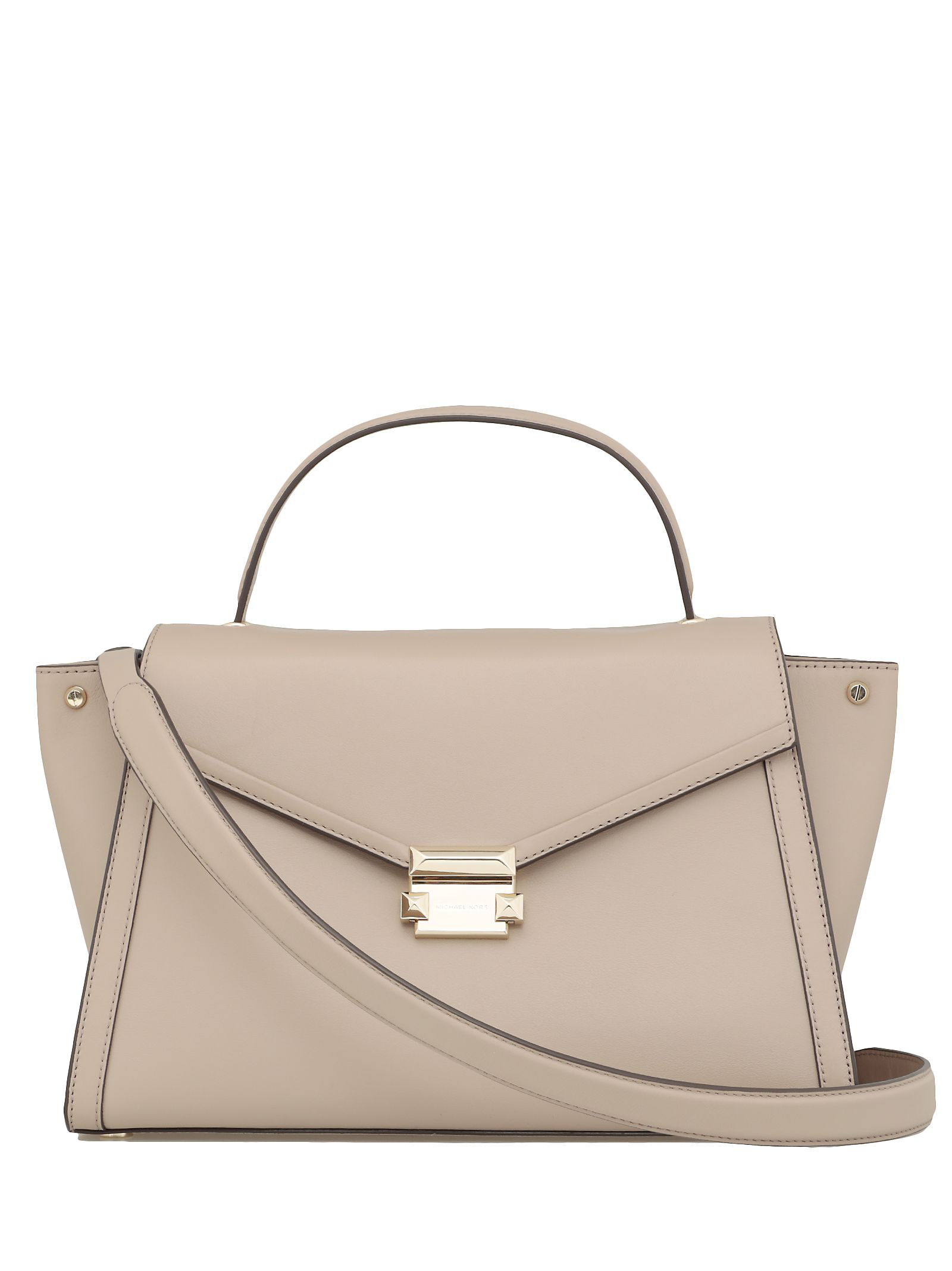 a60a9f270009 Michael Michael Kors Whitney Large Satchel In Truffle | ModeSens
