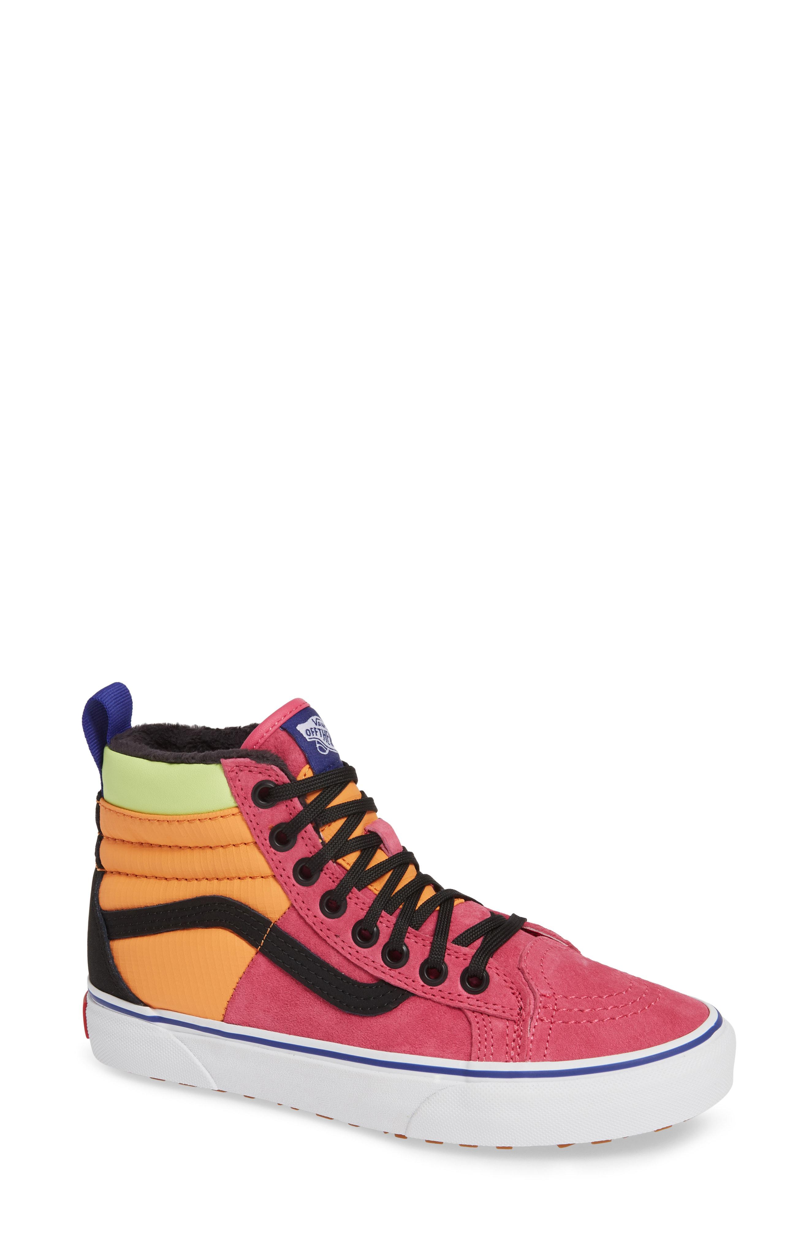 8118bb8b462 Vans Sk8-Hi 46 Mte Dx Sneaker In Pink Yarrow  Tangerine  Black ...