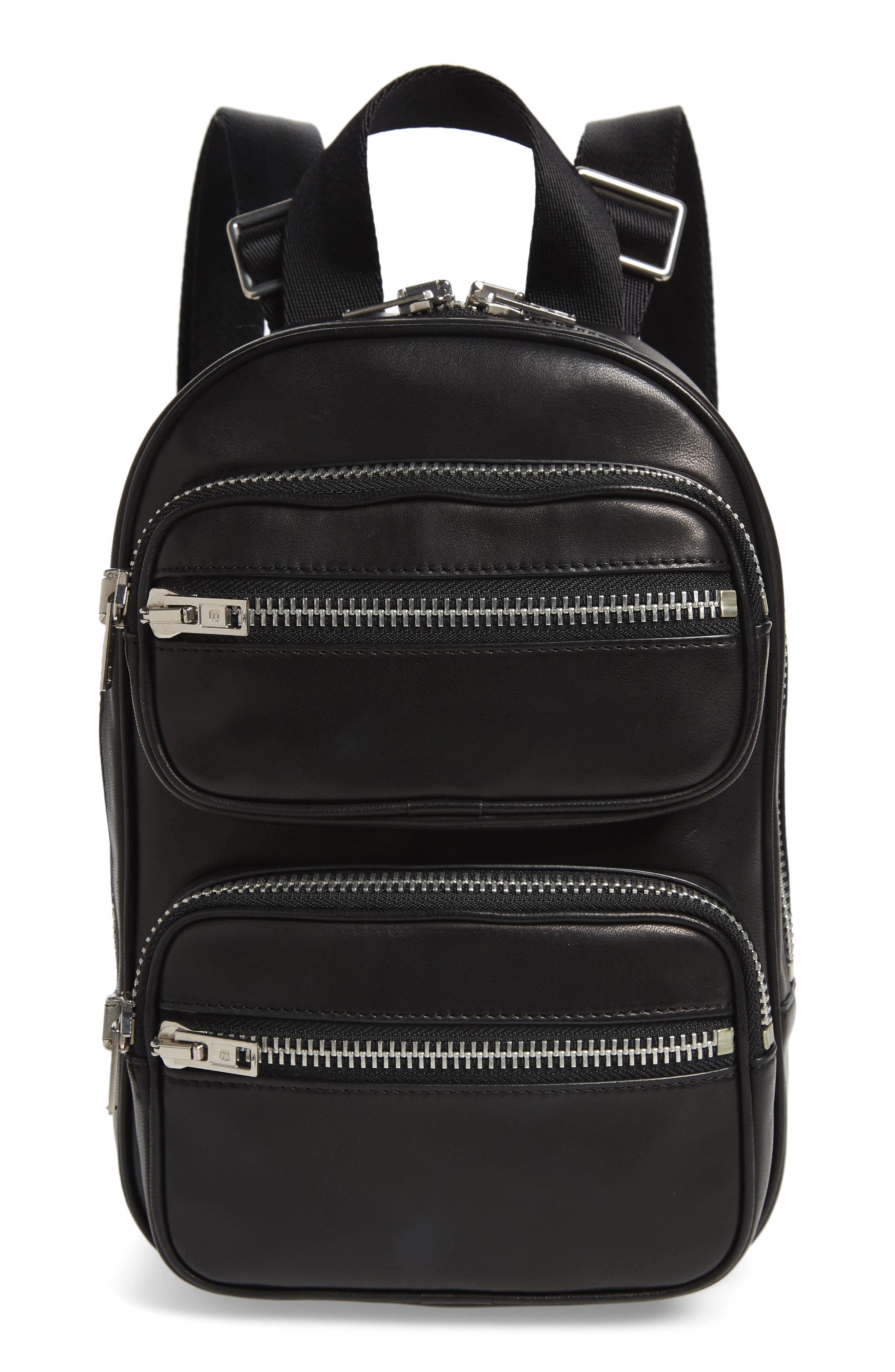 Attica Lambskin Leather Backpack