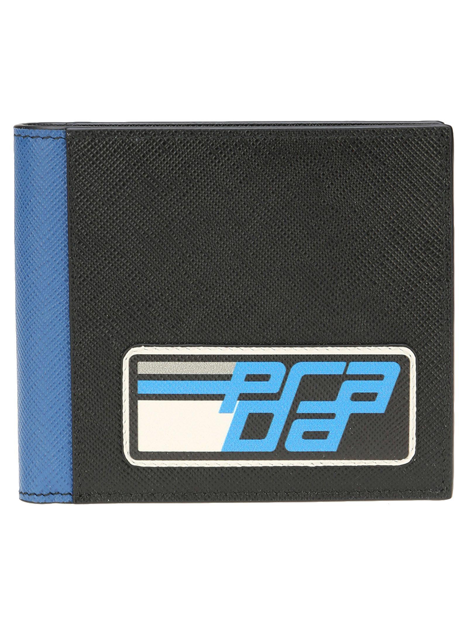 5e25974ab08c Prada Saffiano Leather Classic Wallet In Black | ModeSens