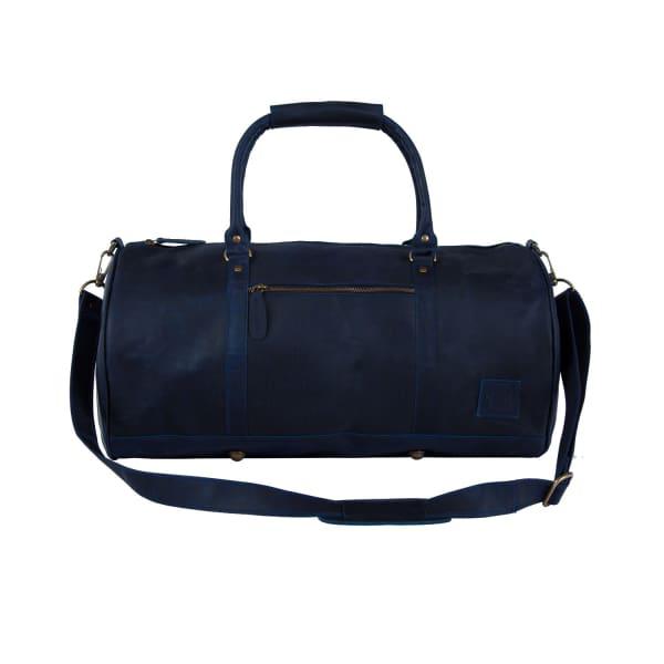 Shop Mahi Leather Leather Weekend Classic Duffle Bag In Navy 31c4e079c9508