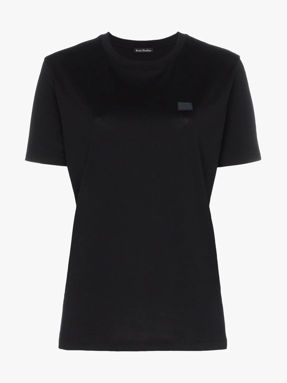 Acne Studios Elice T-shirt In Black Cotton