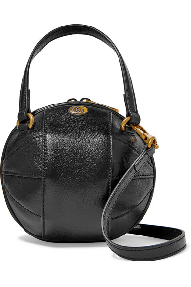 Gucci Piuma Lux Baseball Handbag In Black