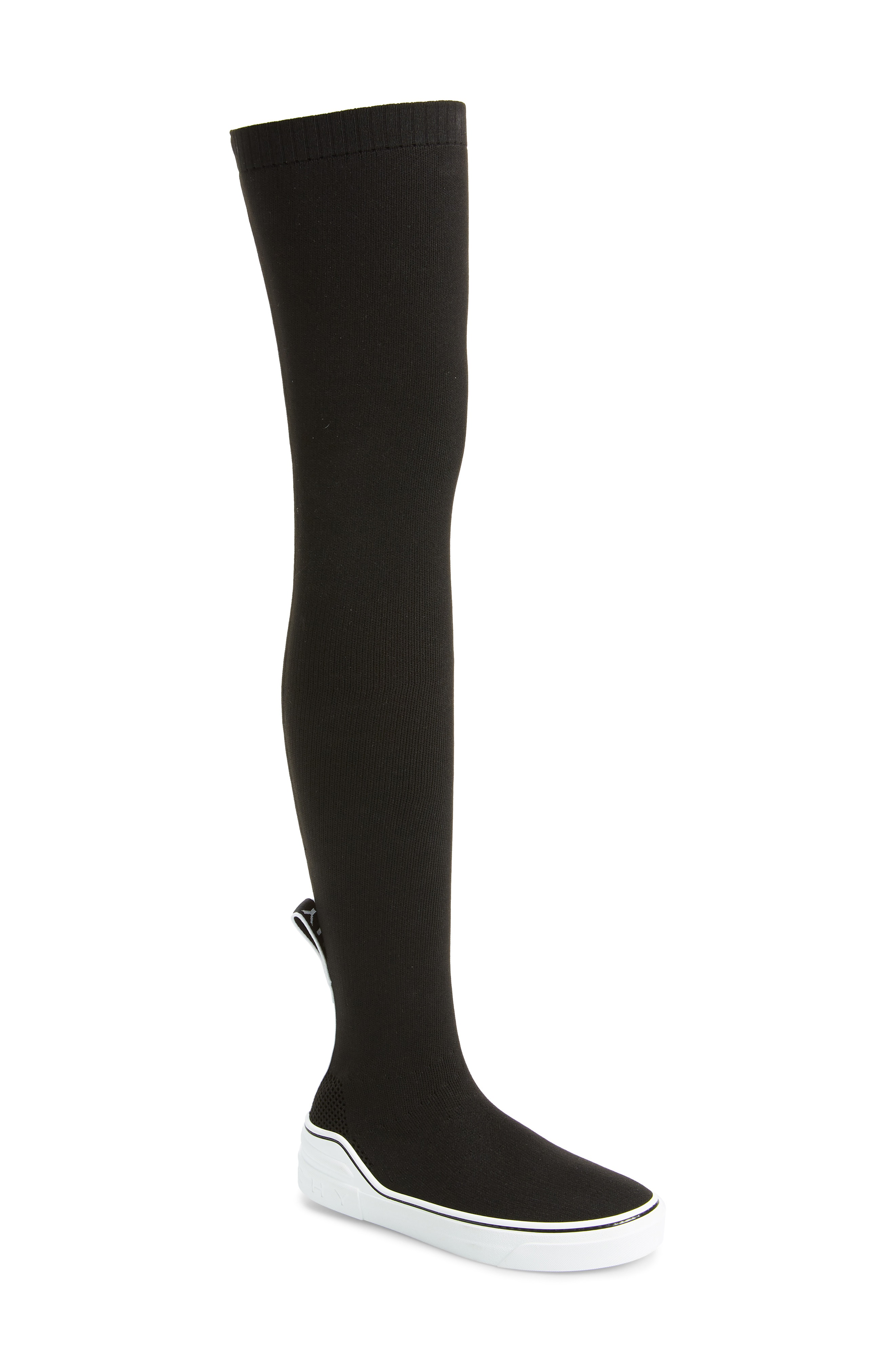 20f26b66f8e5 Givenchy George V Over-The-Knee Sneaker Boots