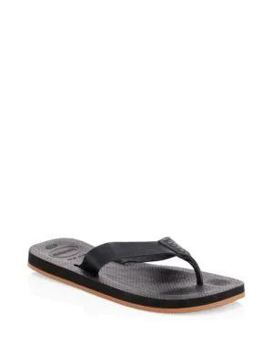1475f5328 Havaianas Urban Special Rubber Flip Flops In Black