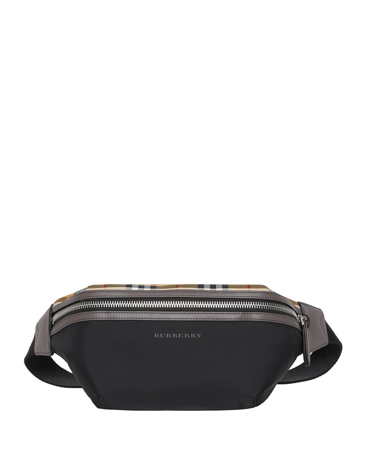 7e92f8205e8 Burberry Medium Vintage Check Nylon Belt Bag In Black. MEMBER ONLY.  630Login to see price