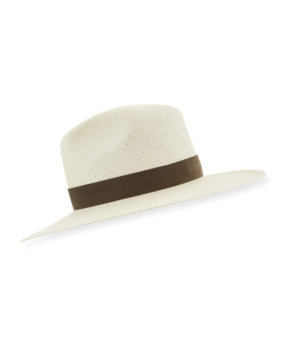ff8990c5a54 Janessa Leone Marcell Packable Straw Fedora Hat In Bleach | ModeSens