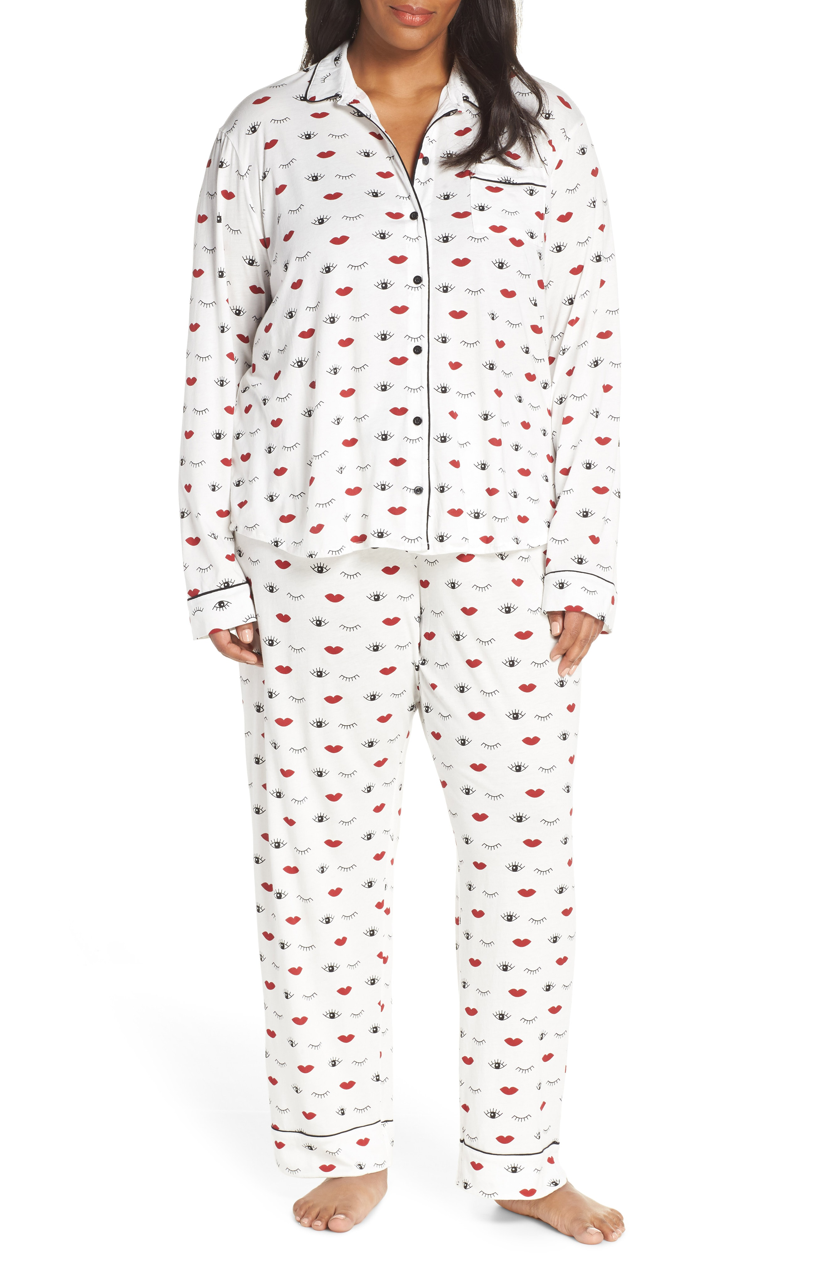 0cb79640eef Pj Salvage Give Love Pajamas In Ivory