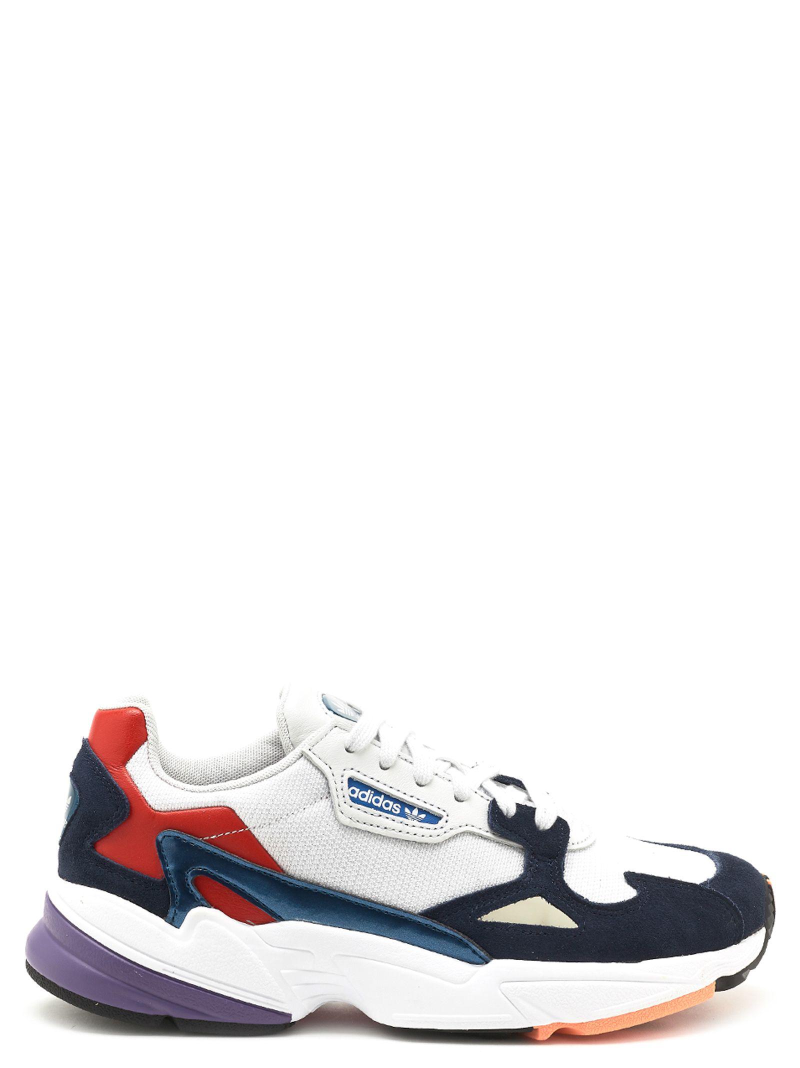 sale retailer 417a5 dc9fd Adidas Originals Women s Originals Falcon Casual Shoes, White In Crystal  White S16