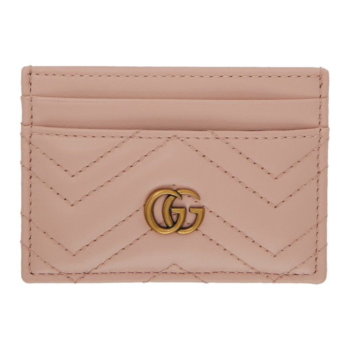 69d64e239a5 Gucci Gg Marmont 2.0 Leather Card Holder