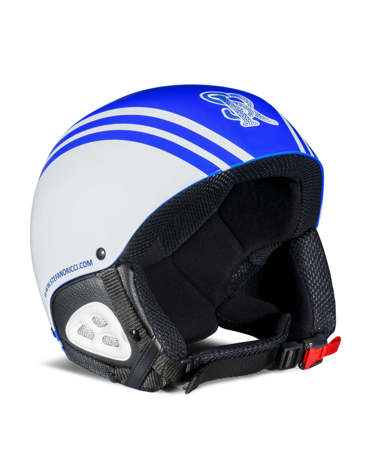ba31c1d930e70 Stefano Ricci Men s Striped Ski Helmet In Blue
