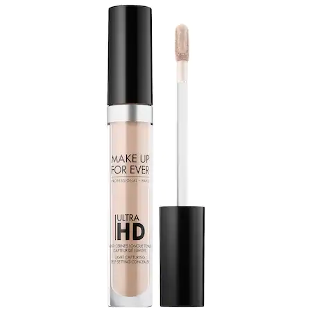 Make Up For Ever Ultra Hd Self-setting Concealer 10 - Alabaster 0.17 oz/ 5 ml