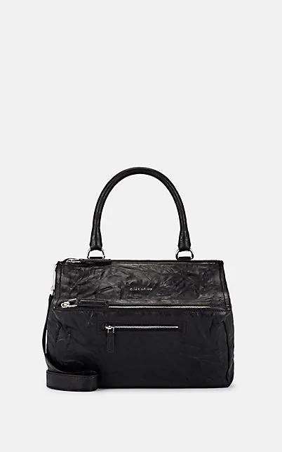 Givenchy Pandora Pepe Medium Leather Messenger Bag - Black