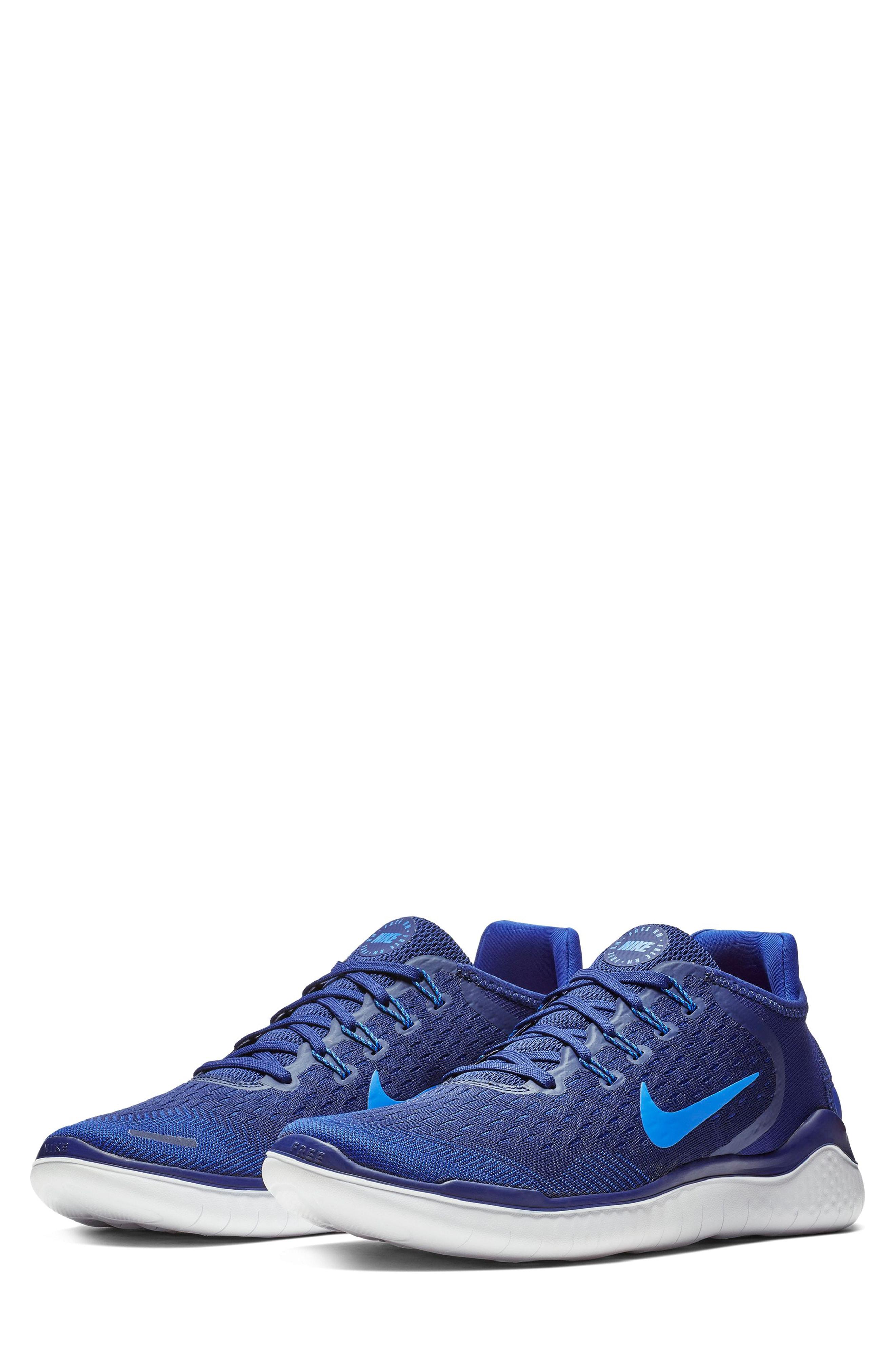 online store 533f9 11864 Nike Free Rn 2018 Running Shoe In Blue Void  Photo Blue  Indigo