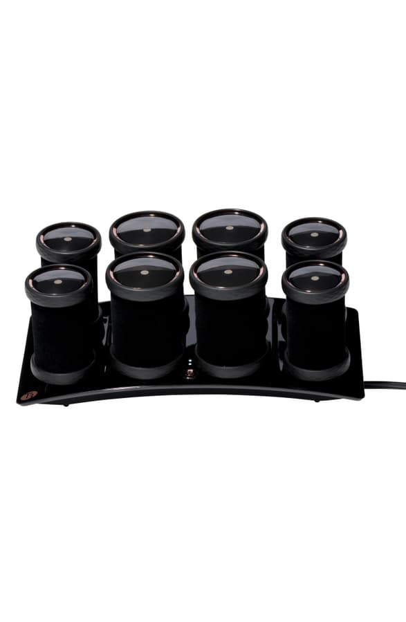 T3 Volumizing Hot Rollers Luxe For Volume, Body, And Shine In Black