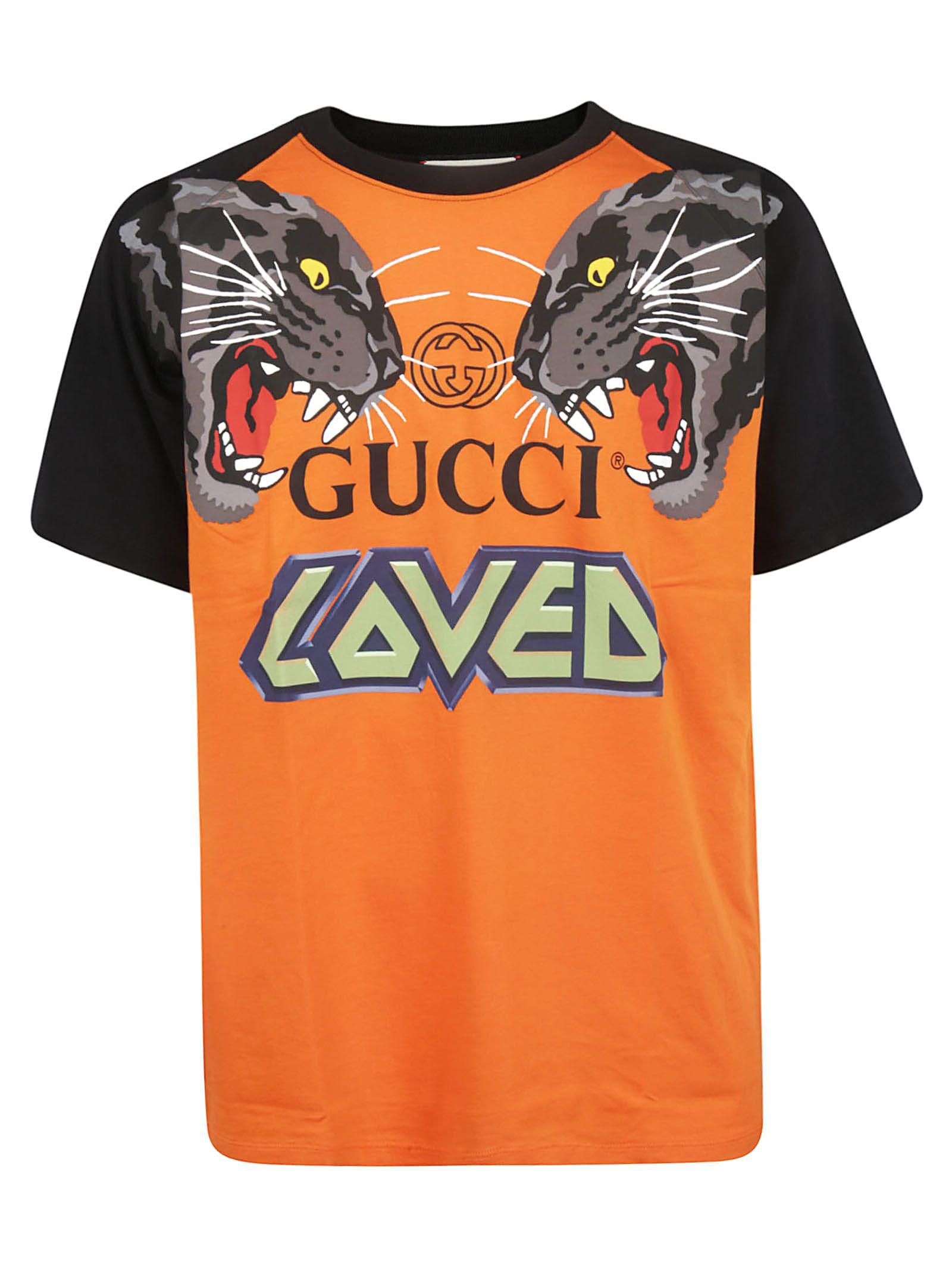 5b51f7f5521 Gucci Men s Tiger Graphic T-Shirt