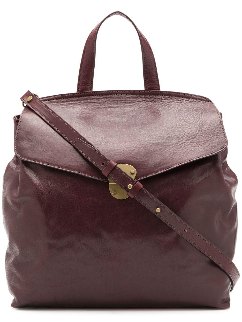 Officine Creative College Shoulder Bag In Brown