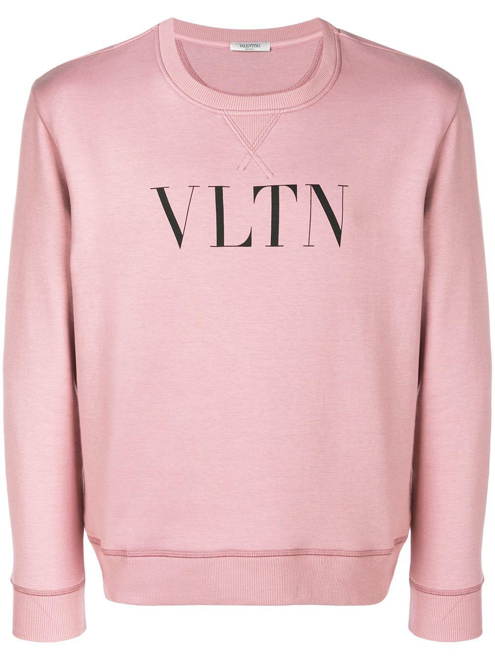 39c7a60dfd41 Valentino Men s Vltn Logo Typographic Sweatshirt