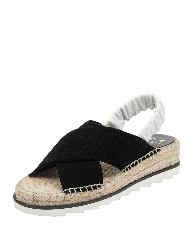 8f4e1c9b2180 Marc Fisher Ltd. Women S Pella Suede Espadrille Sandals In Black White