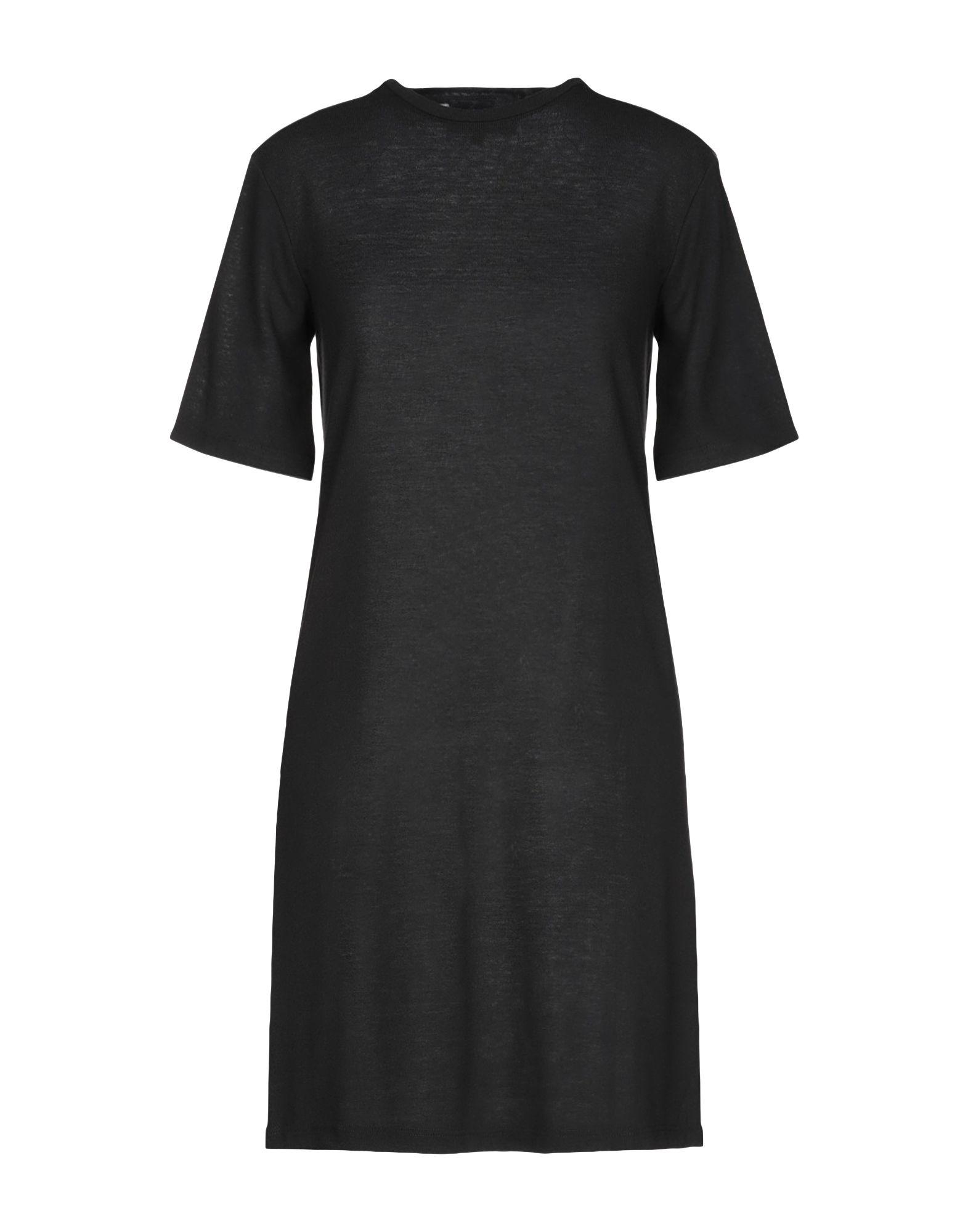 Numero 00 Short Dress In Black