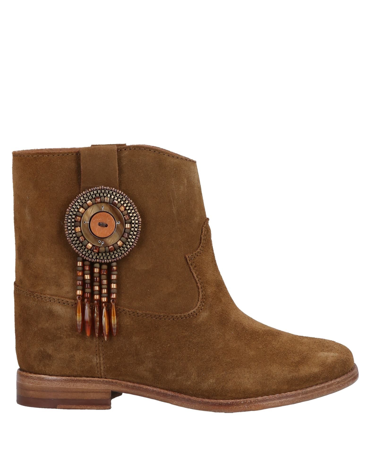 Catarina Martins Ankle Boot In Camel