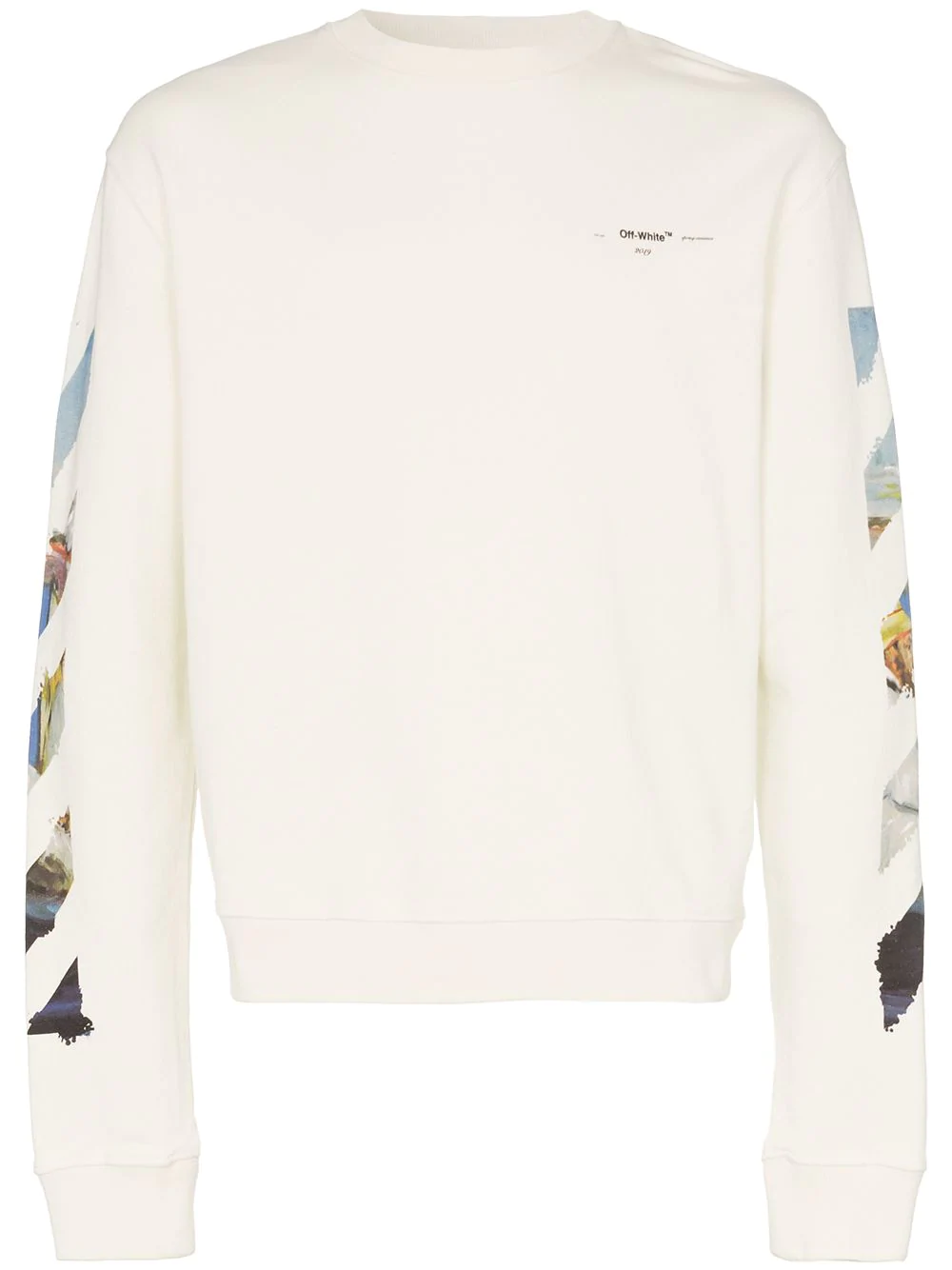 0af0bee0 Off-White Diag Colored Arrows Sweatshirt In White | ModeSens