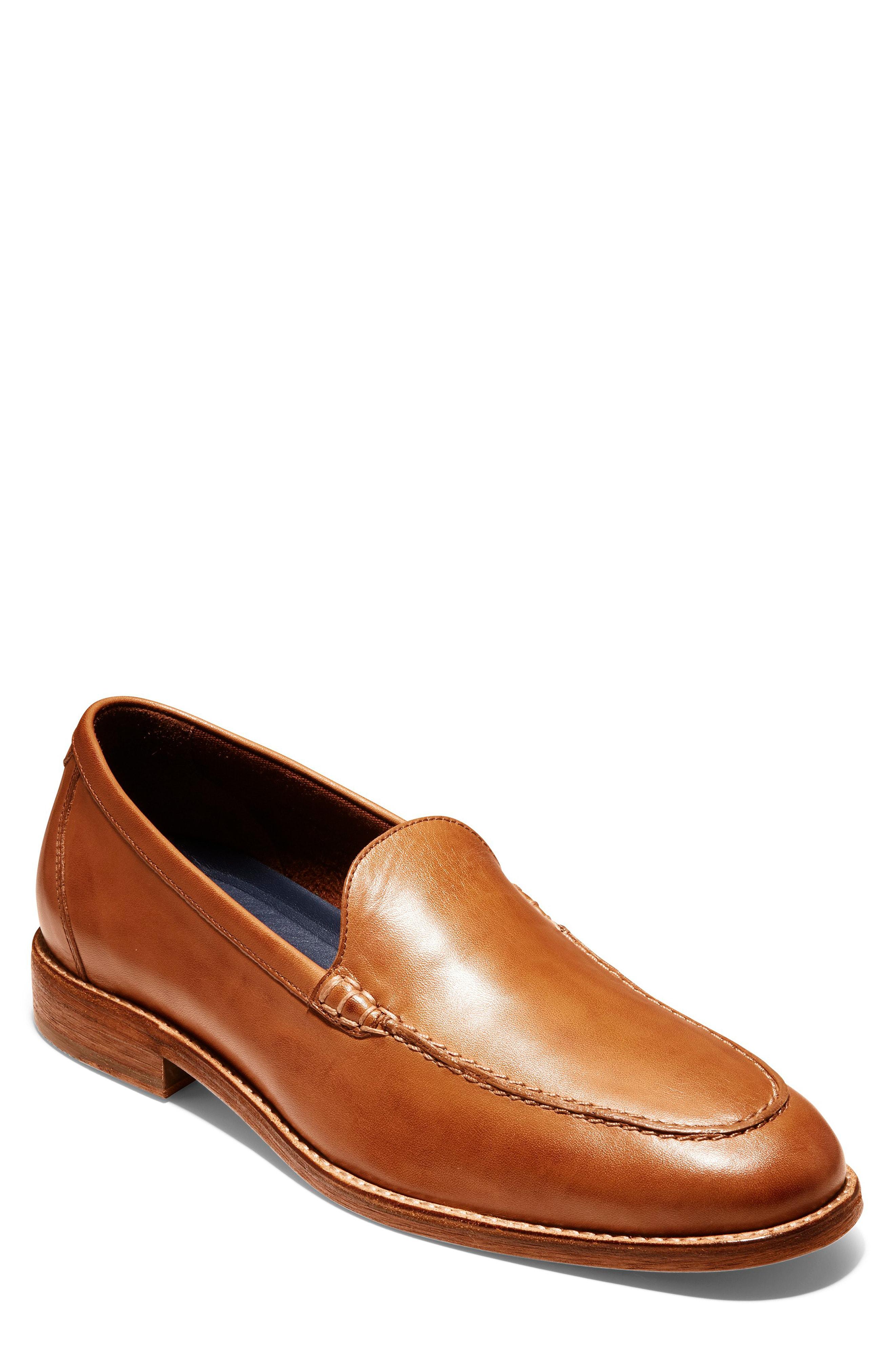 4388b6162cd Cole Haan Men s Feathercraft Grand Venetian Loafers Men s Shoes In British  Tan