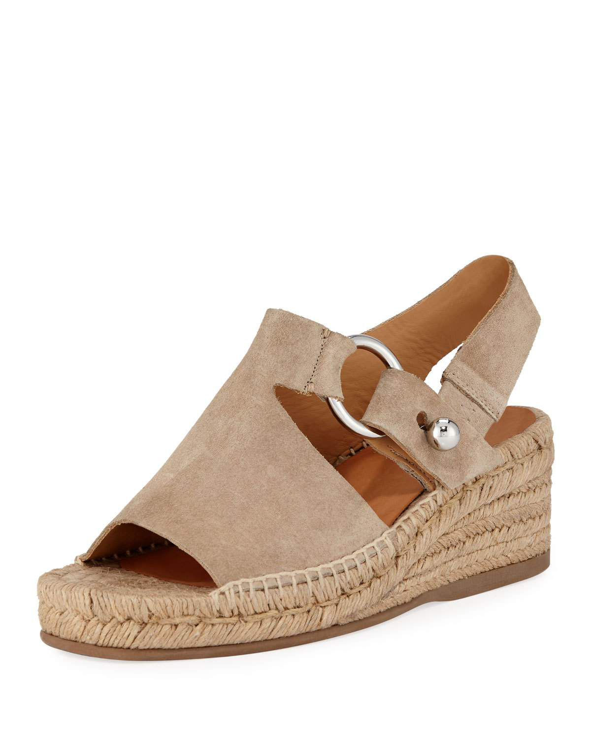 e6e02fb8b8c Rag   Bone Arc Espadrille Wedge Sandal In Light Sand