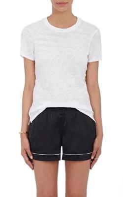 Atm Anthony Thomas Melillo Schoolboy Slub Cotton-Jersey T-Shirt In White