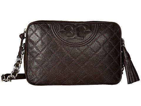 Shop Tory Burch Fleming Distressed Leather Camera Bag c28f22b52b491