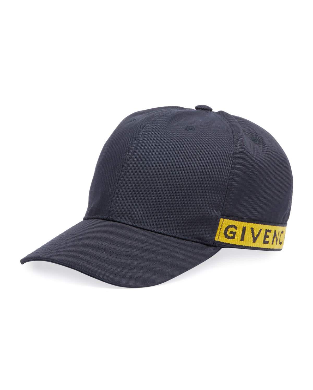 9a06fc3b37d069 Givenchy Logo-Trimmed Canvas Baseball Cap In Black | ModeSens