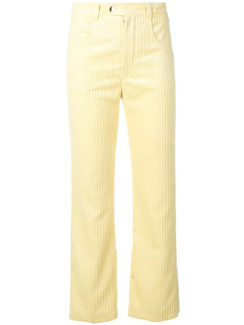 Isabel Marant Classic Skinny Jeans In Yellow