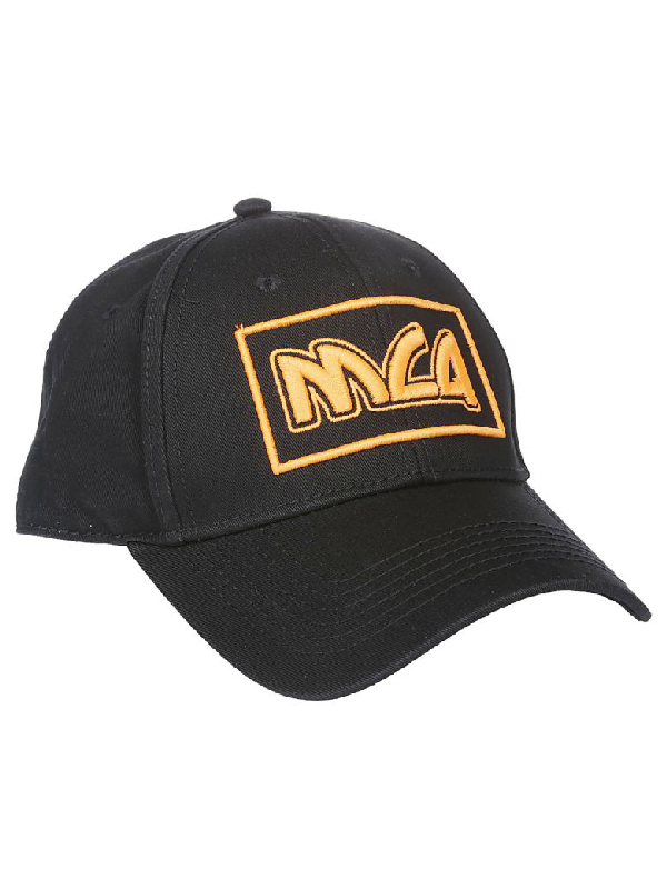 Mcq By Alexander Mcqueen Mcq Logo Embroidered Cap In Black