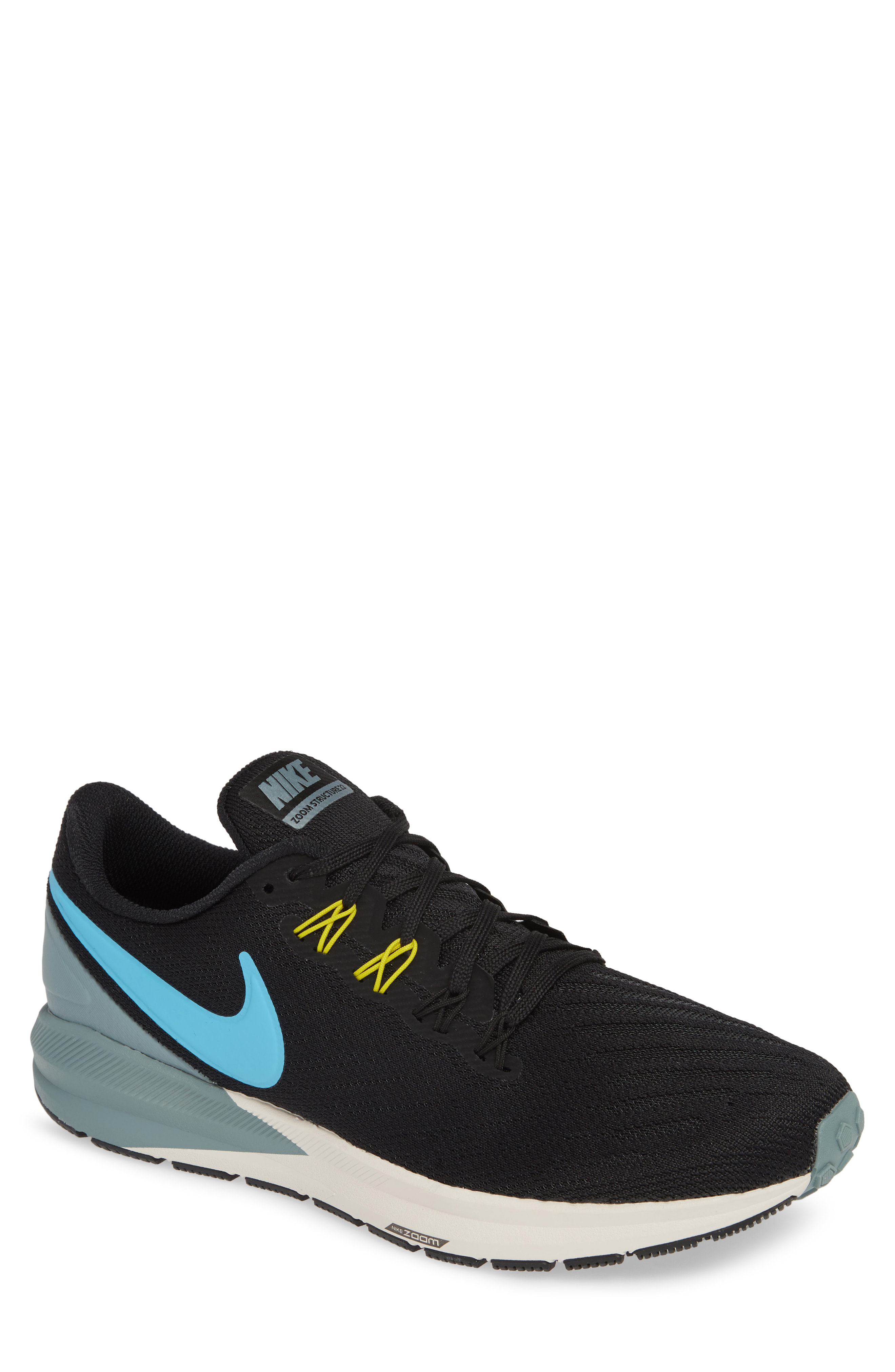 7260639f4c404 Nike Air Zoom Structure 22 Running Shoe In Black