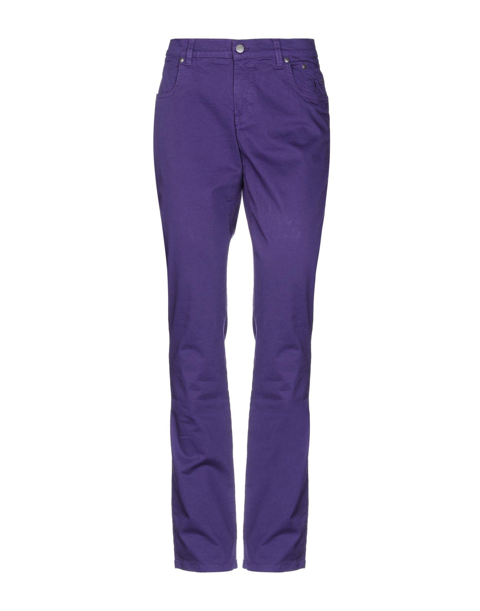 Jeckerson Casual Pants In Purple