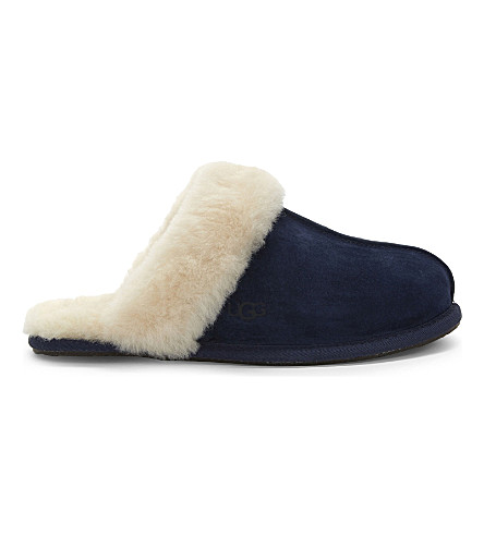 Ugg Scuffette Ii Slippers In Navy
