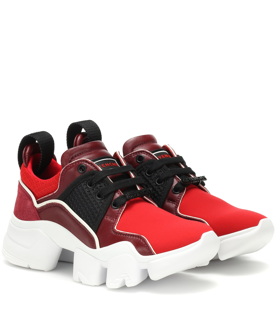Givenchy Women's Be000Fe08N605 Red Leather Sneakers