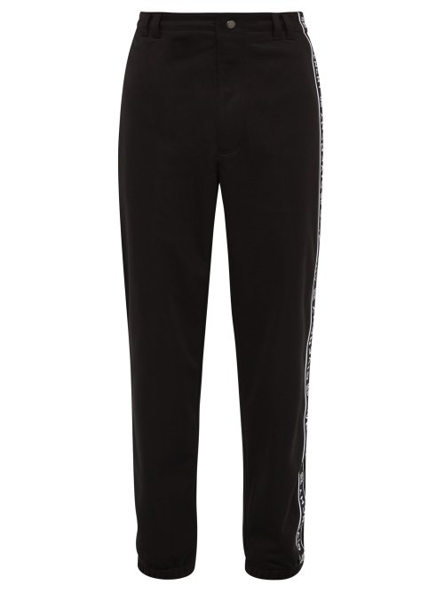 Givenchy Logo-Tape Track Pants In Black
