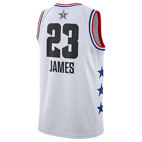 20f04065e84 Nike Men s Jordan Los Angeles Lakers Lebron James Nba All-Star Weekend 2019 Swingman  Jersey