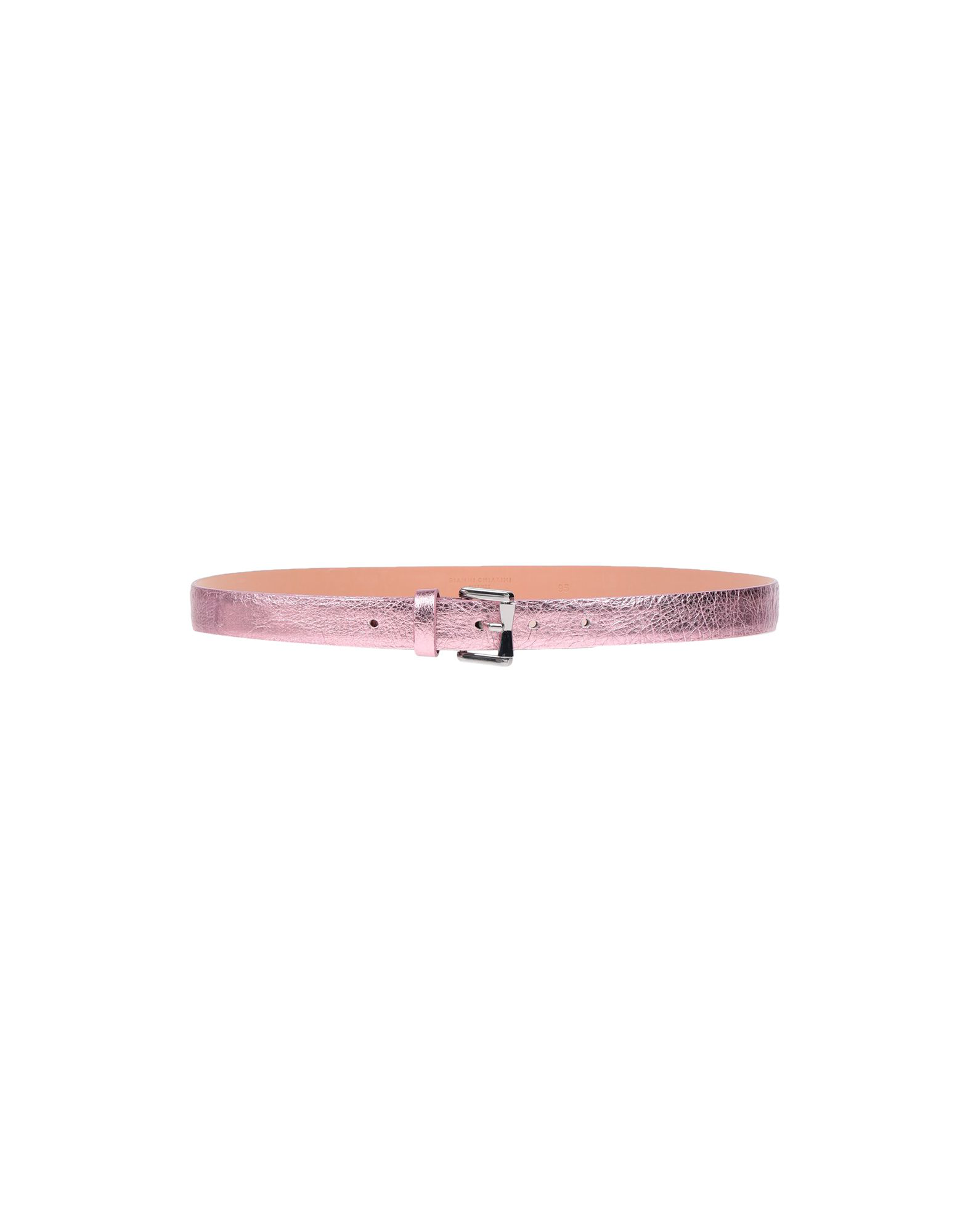 Gianni Chiarini Thin Belt In Pink