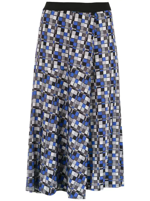AlcaÇuz Letonia Midi Skirt In Blue