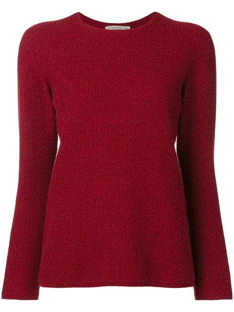 Holland & Holland Cashmere Jumper In Red