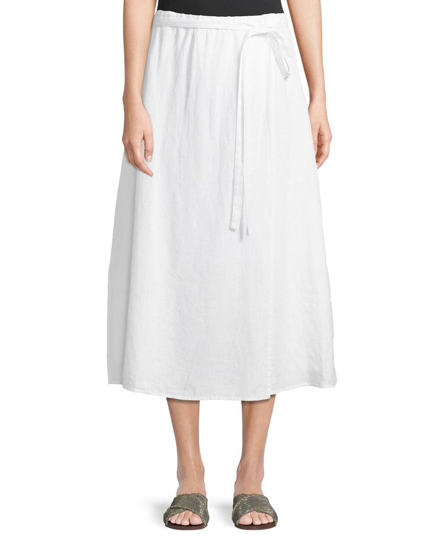 7f3b6ecc3d White Midi Skirt Plus Size – DACC