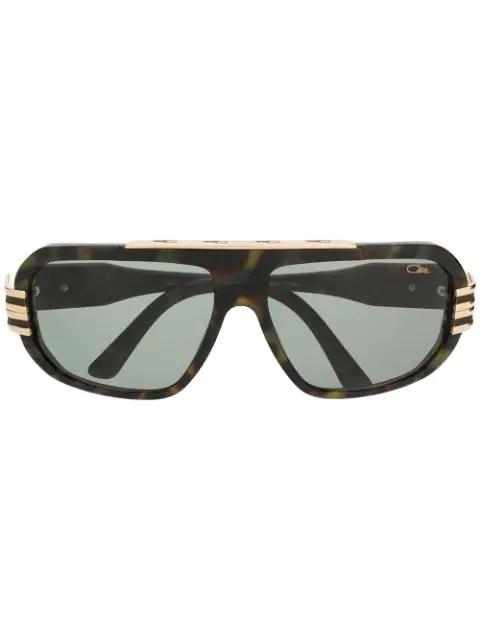Cazal Aviator Sunglasses In Brown