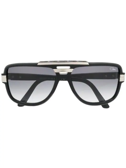 Cazal Aviator Sunglasses In Black