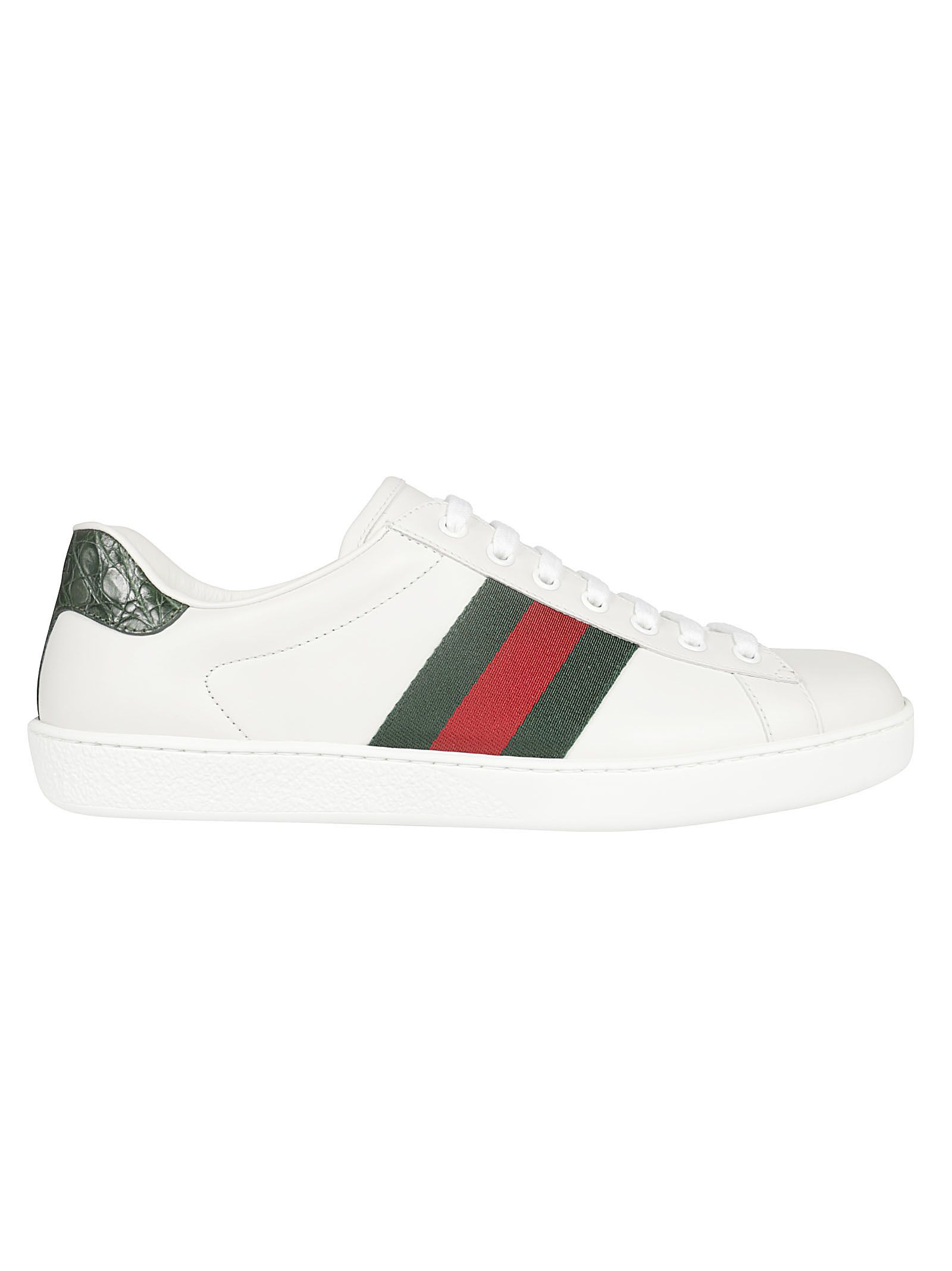 1e4182a31e0c Gucci Men s New Ace Leather Low-Top Sneakers